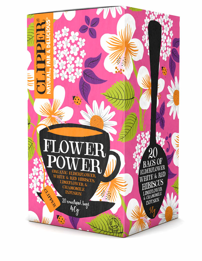 Clipper Flower Power - økologisk